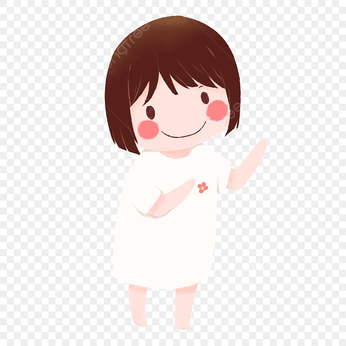 Gambar Kartun Wanita Muslimah Tersenyum Gambar Kartun Kepala Anak Patung Gadis Kecil Comel Clipart Percuma Kartun Putih Kecil Kepala Anak Patung Png Dan Psd Untuk Muat Turun Percuma