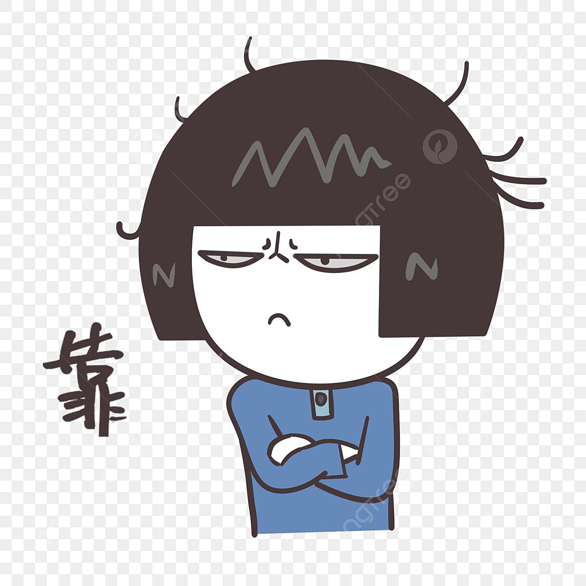 gambar ungkapan janggal ilustrasi kartun ekspresi muka ungkapan wajah ilustrasi pekak perasaan png dan psd untuk muat turun percuma https ms pngtree com freepng deaf cartoon illustration 4583423 html