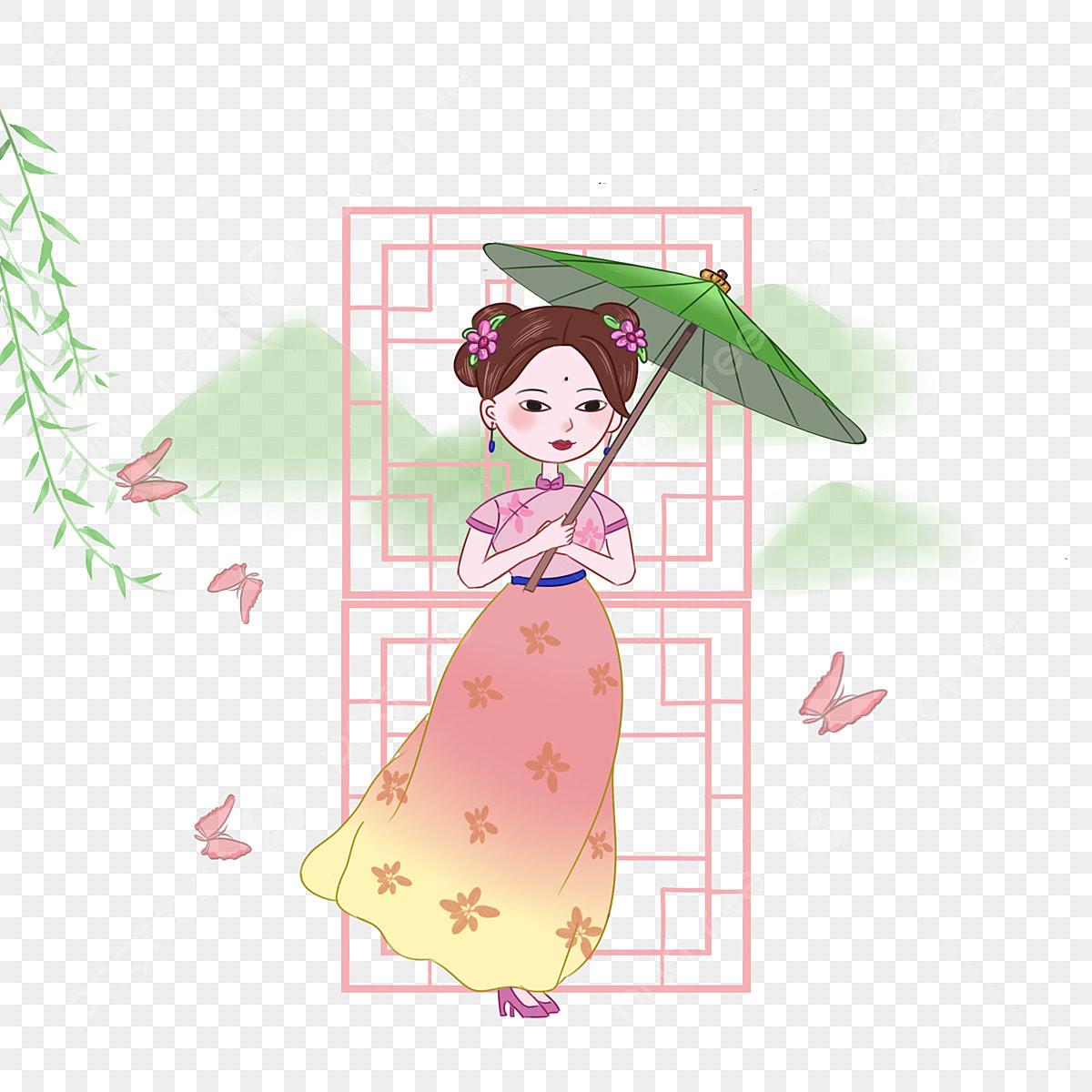 Illustration Du Personnage De Gu Yu Belle Petite Fille