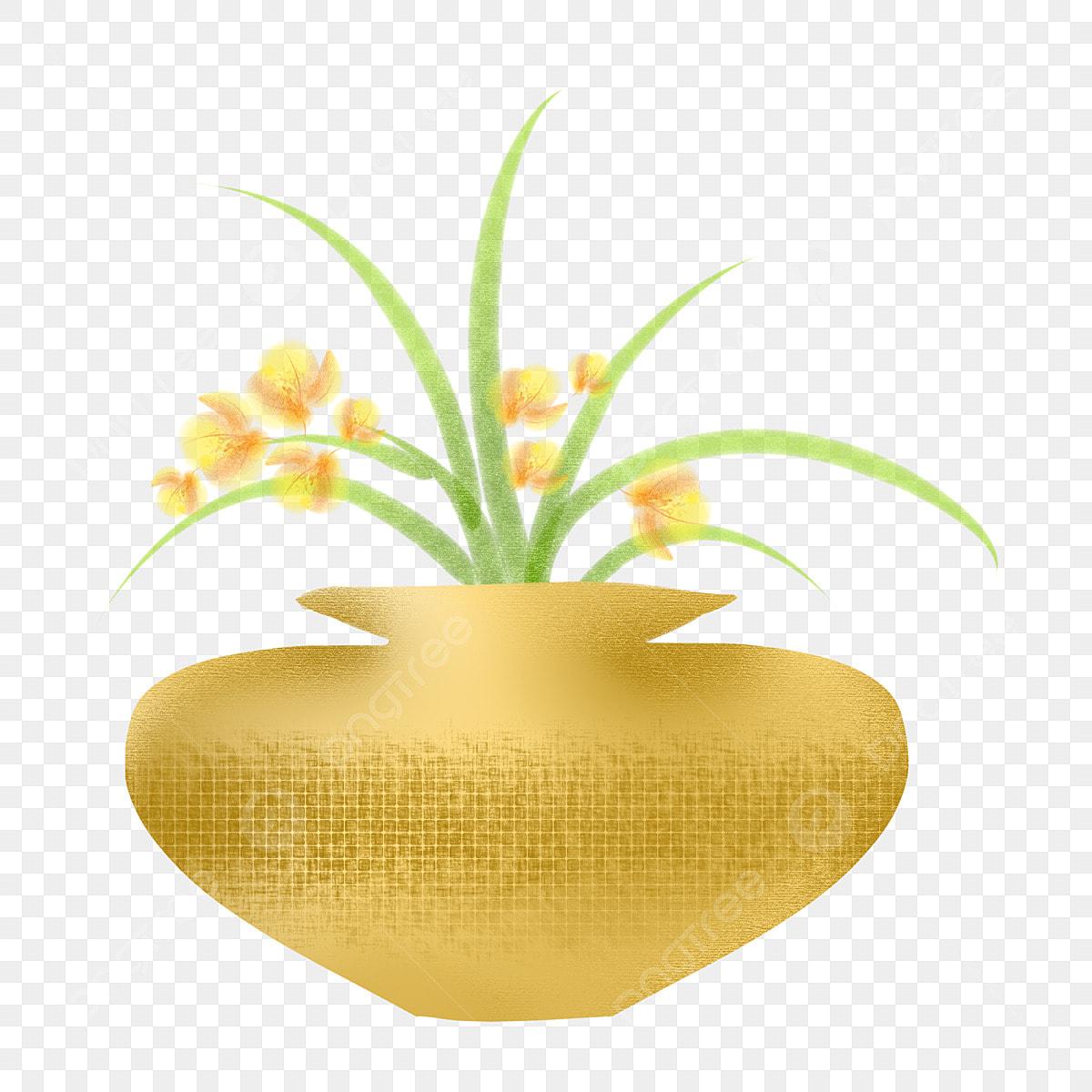 Decoration Petit Pot De Fleur fleur d'oranger petit pot de fleur feuilles vertes