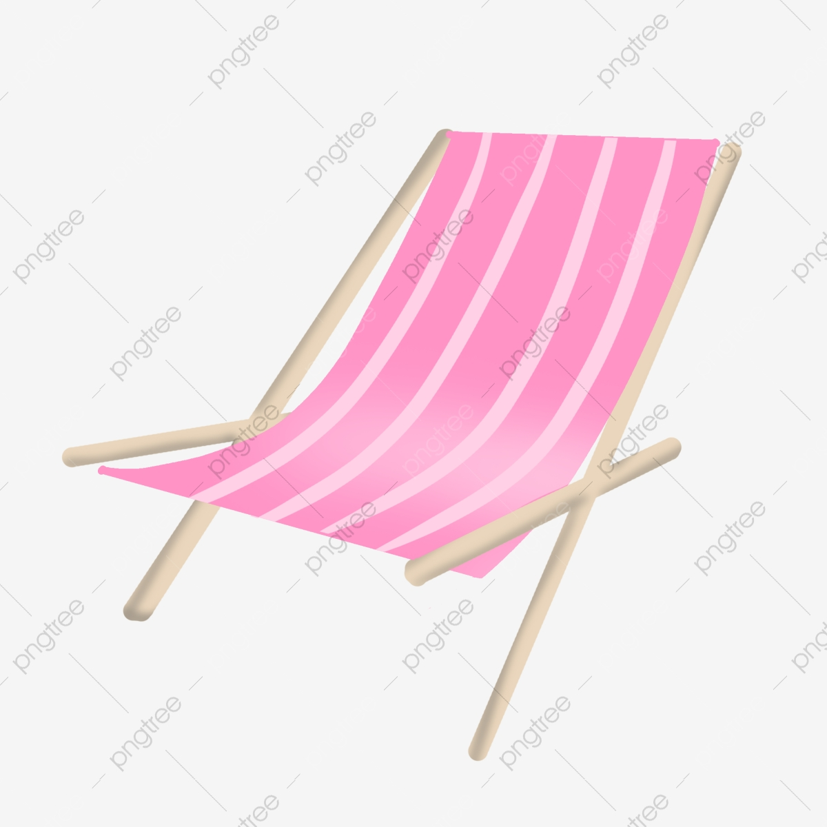 Pink Beach Lounger Illustration Beach Lounge Chair Rocking Chair Png Transparent Clipart Image And Psd File For Free Download