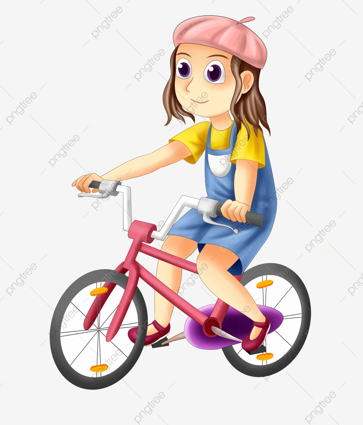Cycling Girl Png Images Vector And Psd Files Free Download On Pngtree