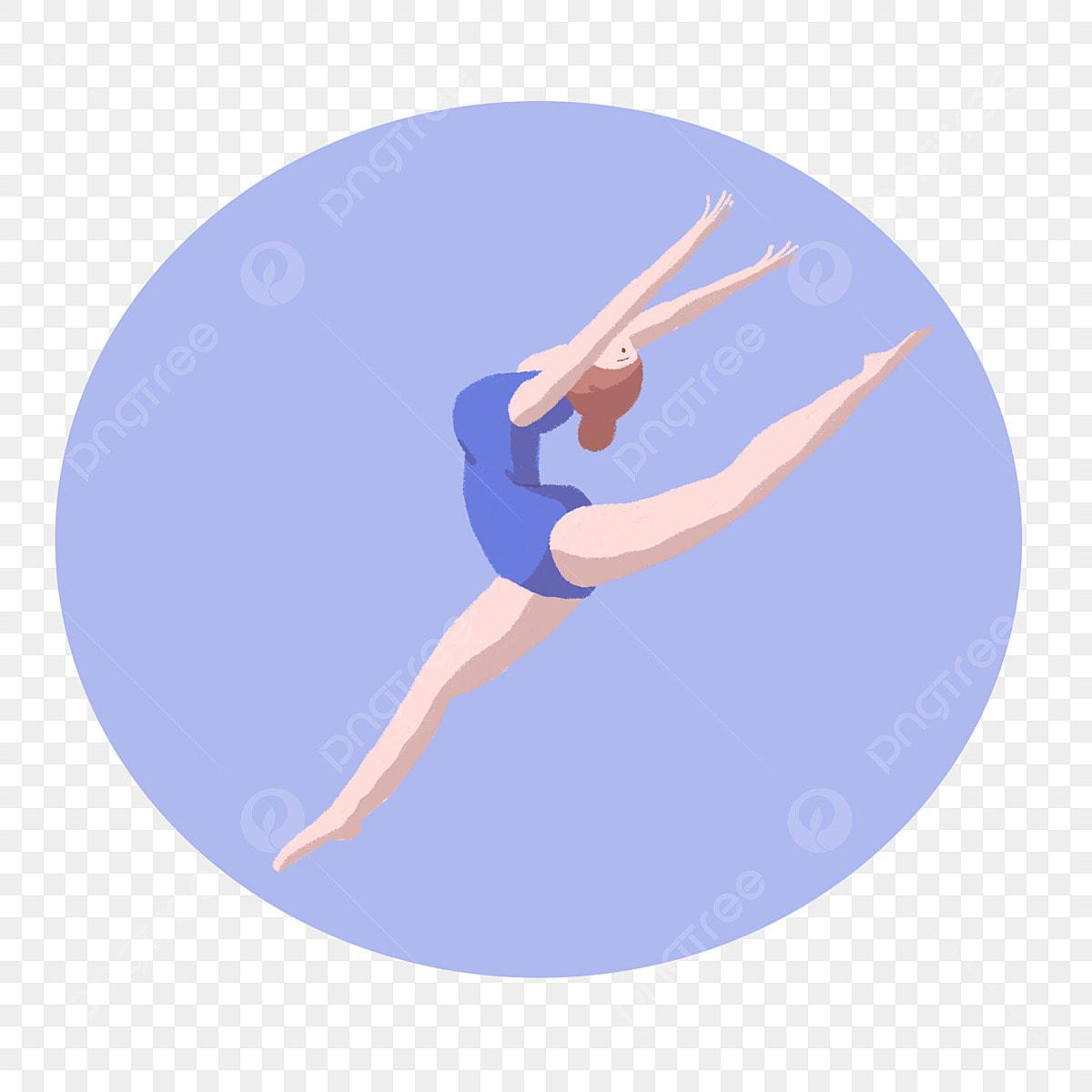 Free Cute Gymnastics Cliparts, Download Free Clip Art, Free Clip Art on  Clipart Library