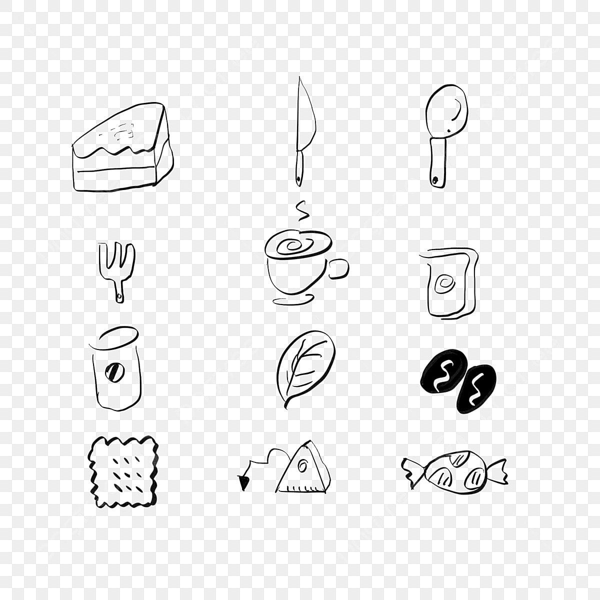 Gambar Kedai Kopi Hitam Putih Tokoh Kayu Kedai Kopi Pencuci Mulut Tangan Dicat Tokoh Tongkat