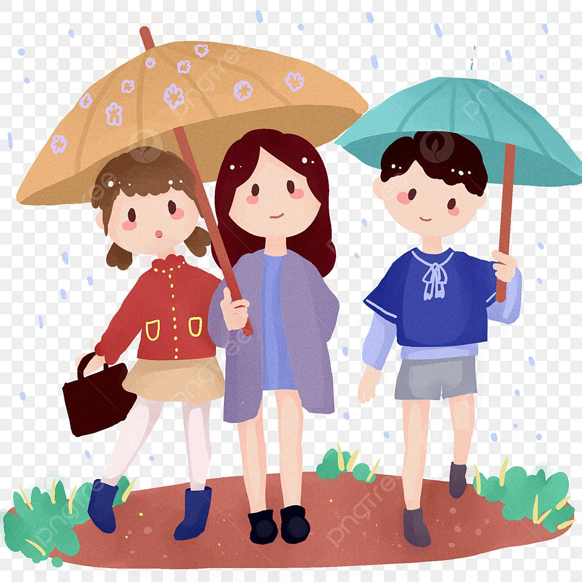 Thriller Spring Raining Kids Trails Umbrella Cute, Horror ...