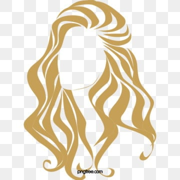 monochrome roll long hair beauty side face, Long Curly Hair, Monochrome Curls, Blonde PNG and PSD