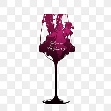 goblet of red wine, Wine Cup, Smoke, Ink PNG and PSD