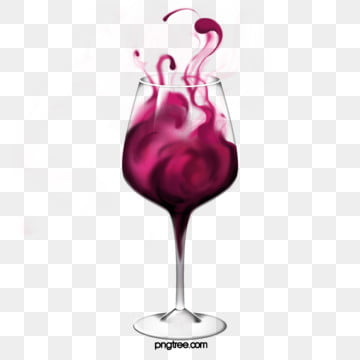 stereo style wine red wine glass, Wine Cup, Claret, Stereoscopic Style PNG and PSD