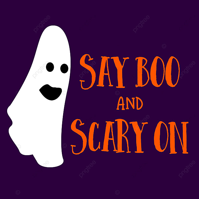 Funny Halloween Quotes Say Boo And Scary On Text Effect Psd