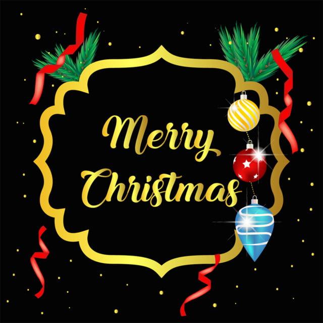 Merry Christmas Ribbon Clipart.Merry Christmas Ribbon Bow And Ball Snow Globe Book Santa