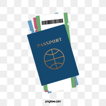 travel passport ticket, Passport, Plane Ticket, Tourism PNG and PSD