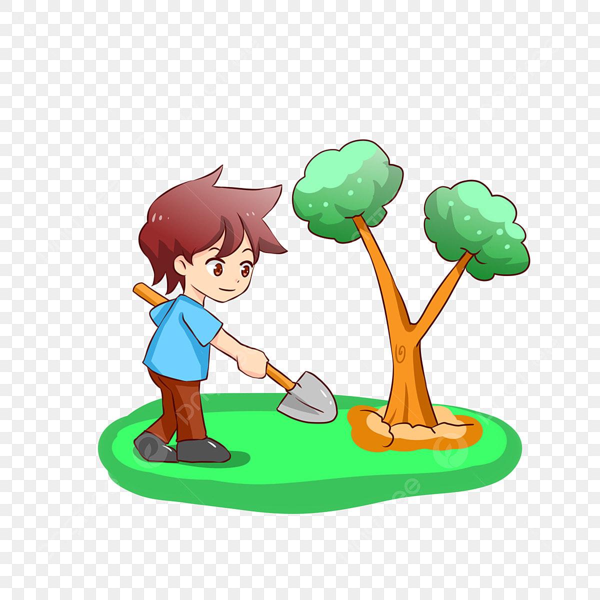 Little Boy Planting Tree Png المتجهات Psd قصاصة فنية تحميل مجاني Pngtree
