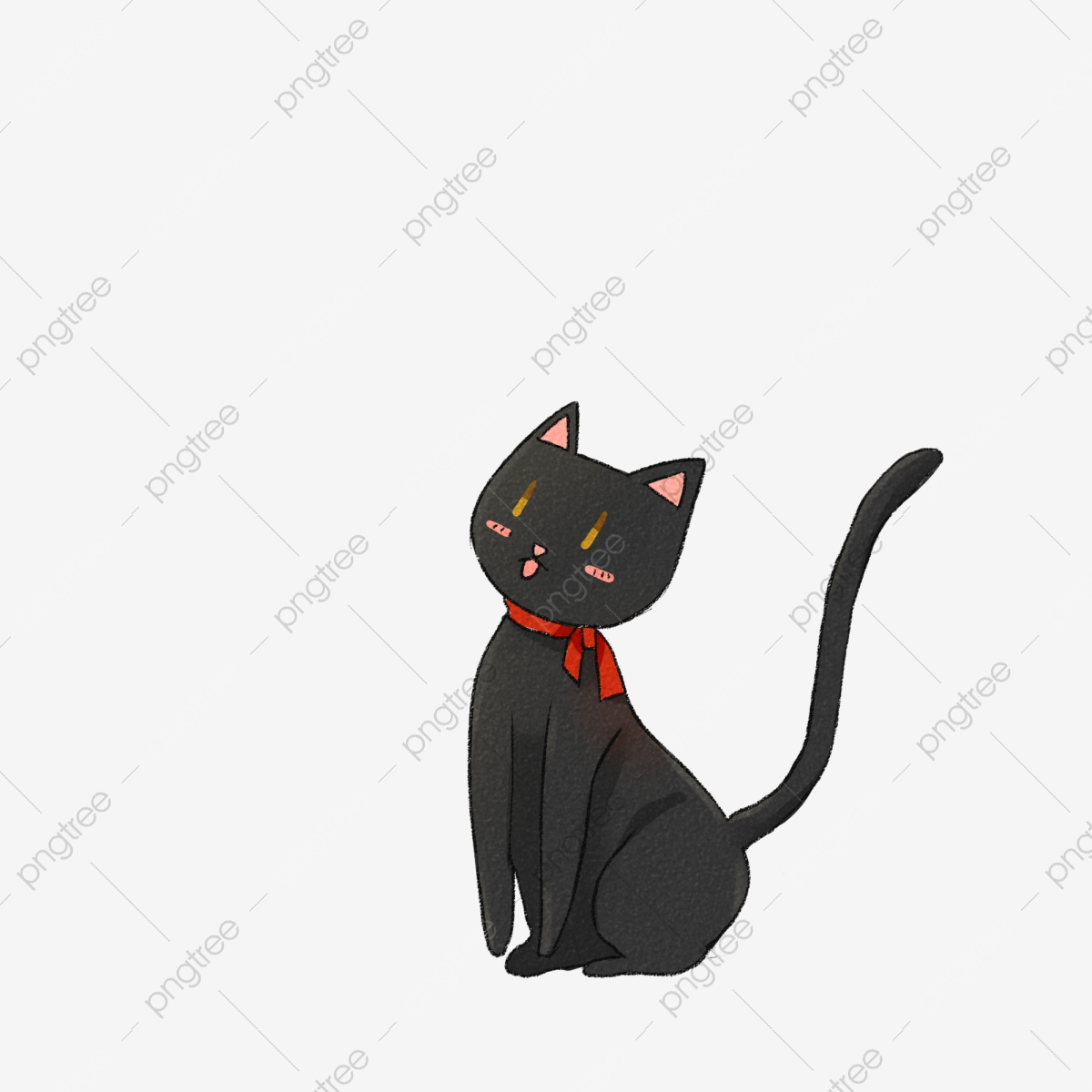 black kitten cute elements black kitten pet png transparent clipart image and psd file for free download pngtree