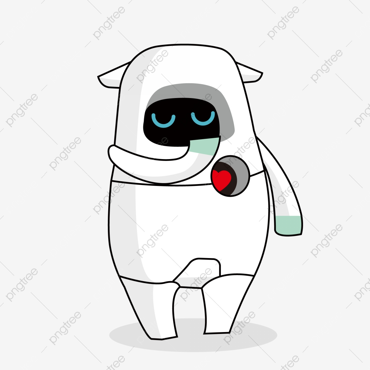 Colorful Robot With Mouth Wide Open Cartoon Royalty Free Cliparts, Vectors,  And Stock Illustration. Image 95294986.