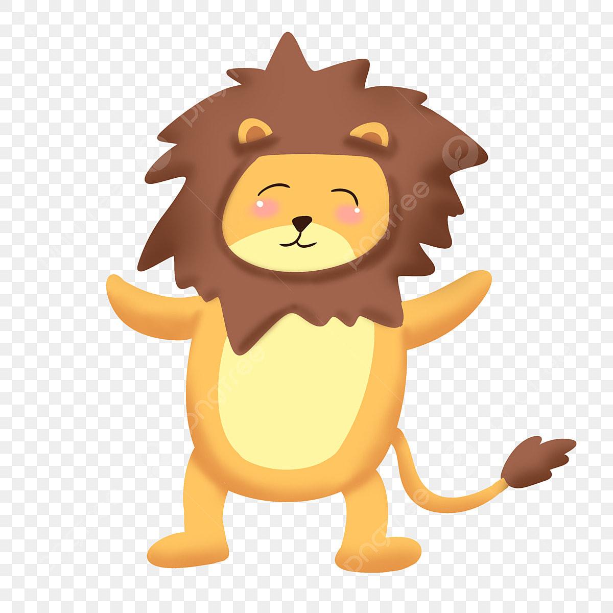 小さなライオン かわいい小さなライオン 幸せな表情 幸せな