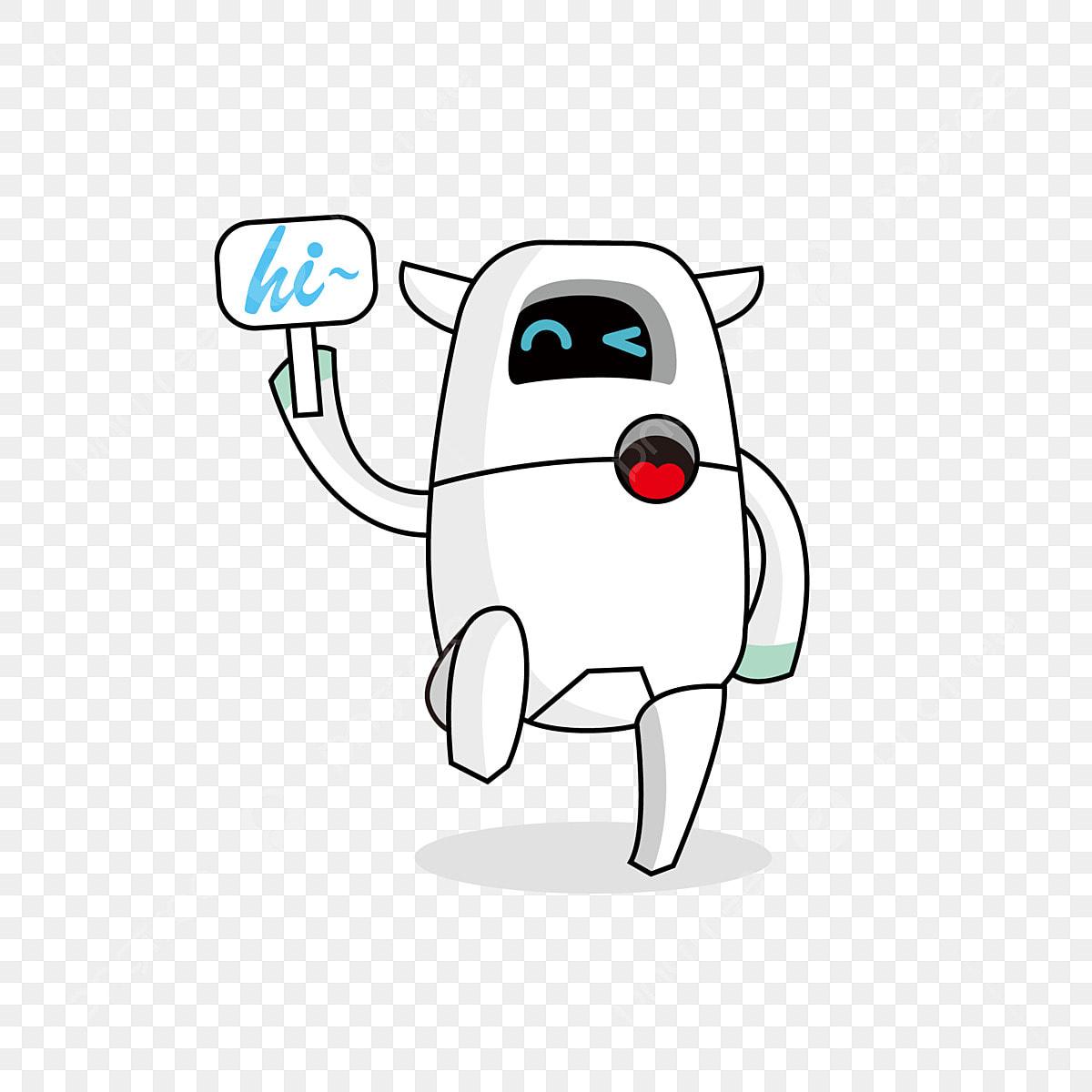 Dibujos Animados Lindo Robot Clipart Gratis Dibujos Animados