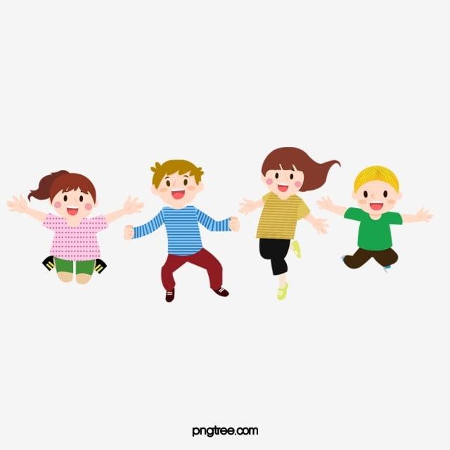 Dessin Anime Enfants Clipart Enfants Ecole Des Gamins Fichier Png Et Psd Pour Le Telechargement Libre