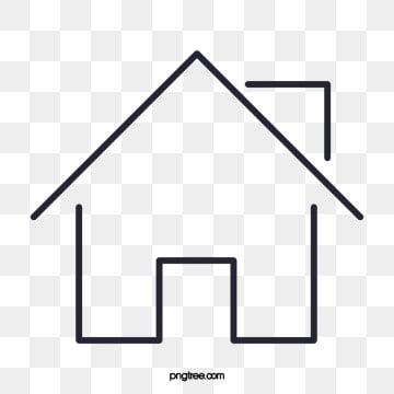 дом, клипарт, Дом, значок PNG и PSD