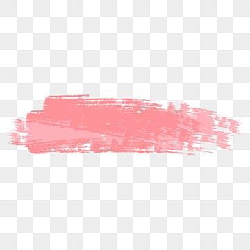 розовые акварельные кисти, окрашенный, чернила, Метки PNG и PSD