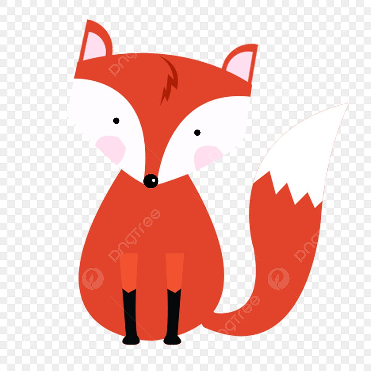 Renard Renard Roux Animal De Dessin Anime Histoire Sournoise Clipart De Renard Renard Red Fox Fichier Png Et Psd Pour Le Telechargement Libre