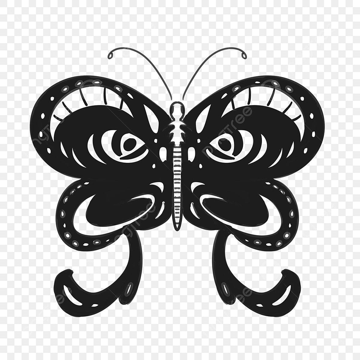 Tatouage Papillon Papillon Motif Illustration Tatouage De Papillon Papillon Modele Fichier Png Et Psd Pour Le Telechargement Libre
