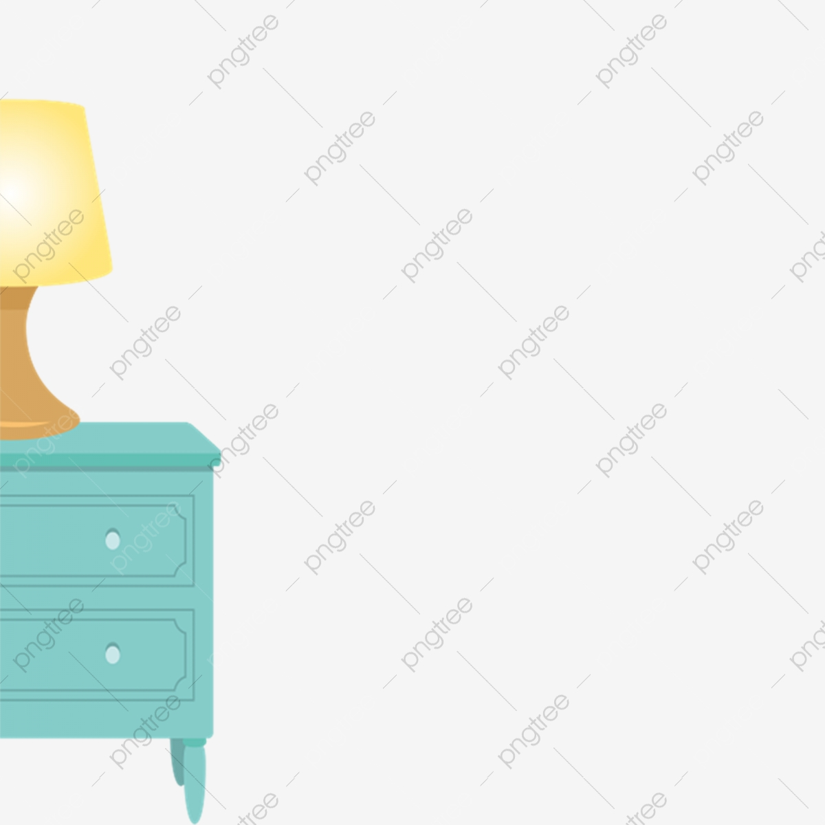Blue Bedside Table Free Of Charge Lighting Table Lamp Cartoon