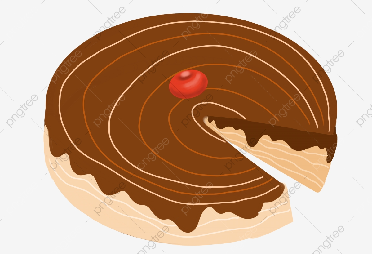 Chocolat Brun Illustration De Dessin Anime Illustration De Gateau