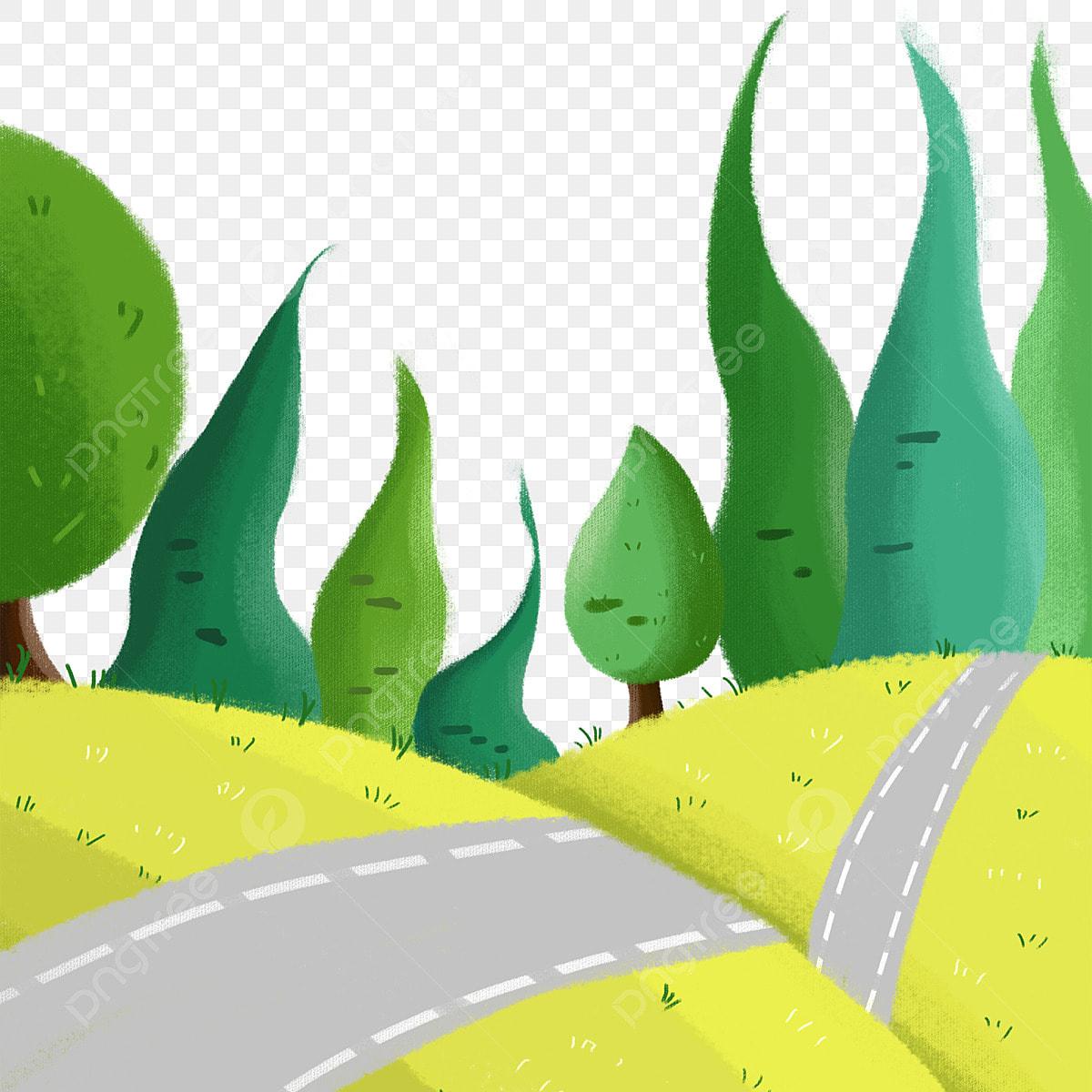 Rural Llanura Ejemplo A Mano De Dibujos Animados, Rural, Mano PNG y PSD  para Descargar Gratis | Pngtree