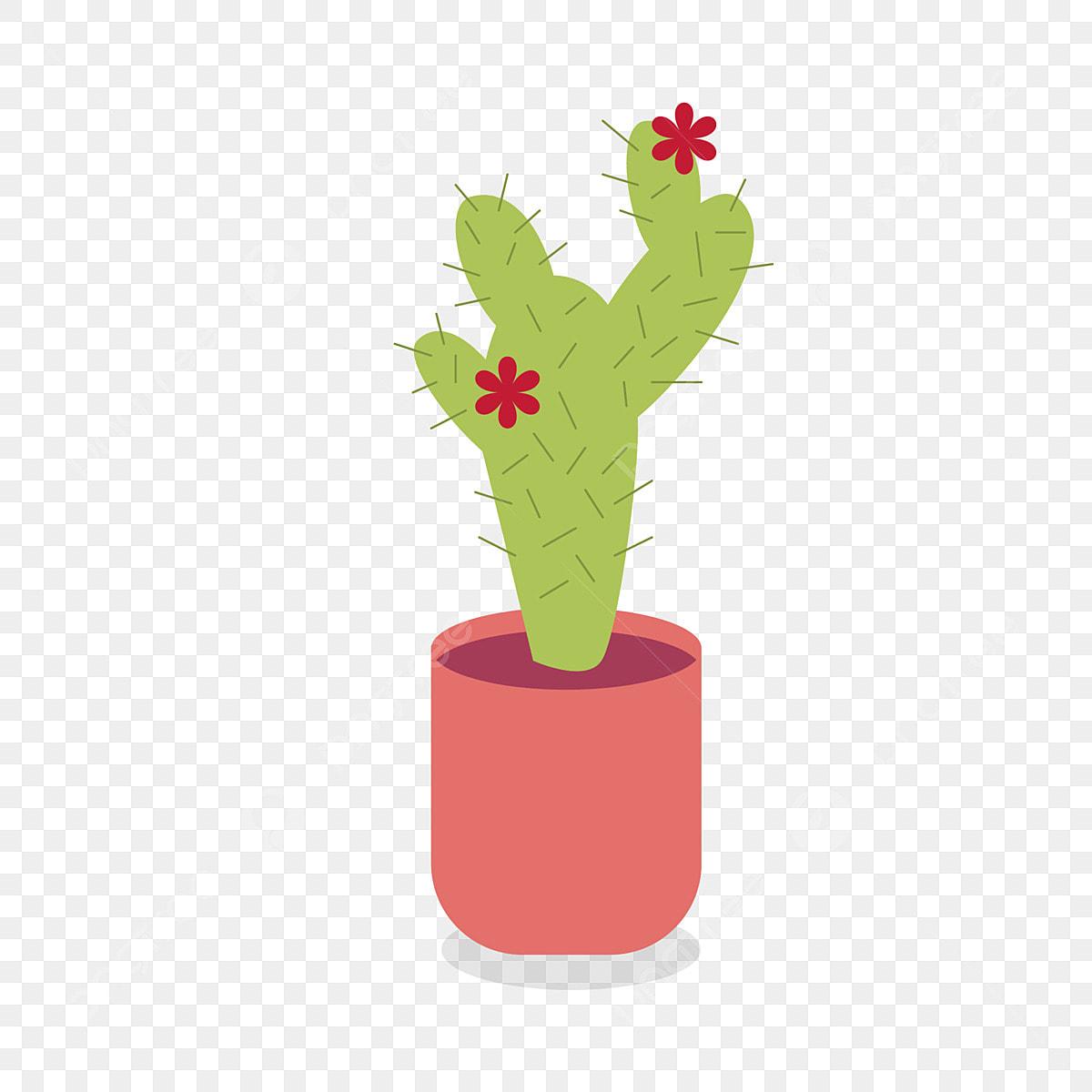 Plante Haute En Pot dessin animé plante en pot illustration gratuite dessin