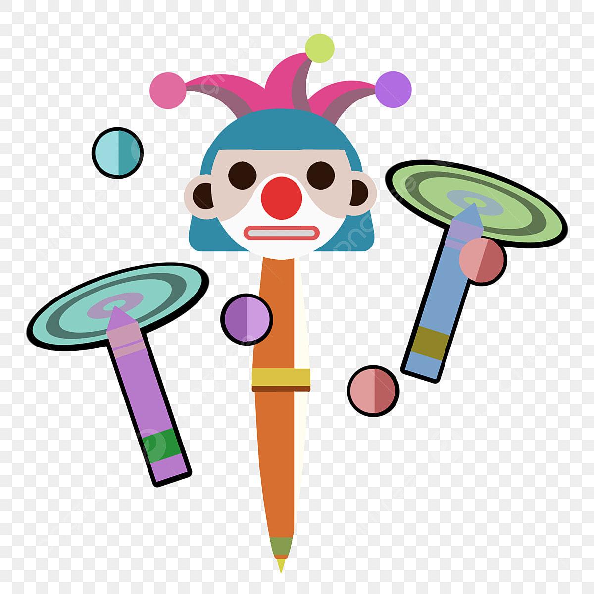 Crayon De Cercle Arc En Ciel Illustration De Crayon Mignon