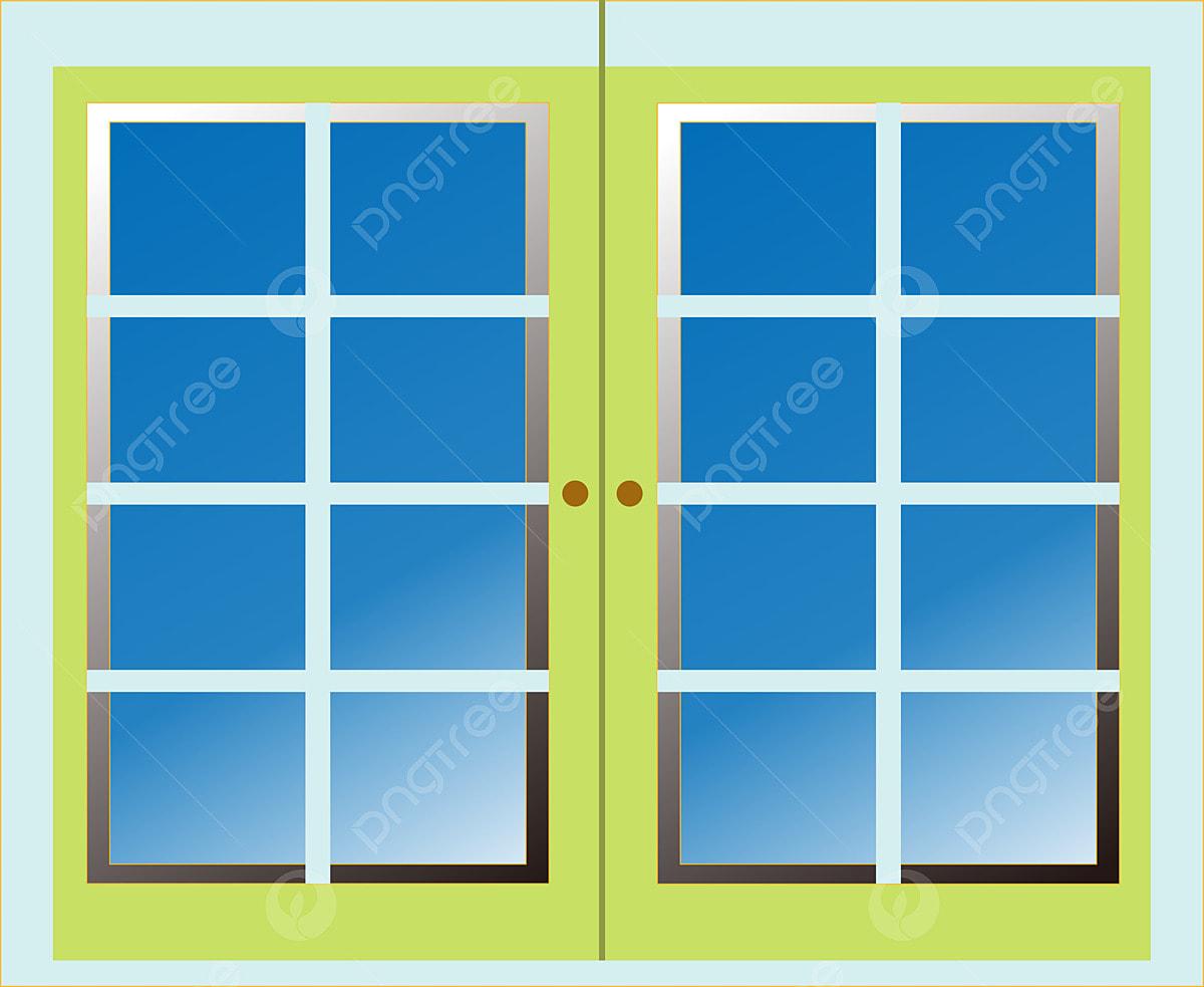 Kartun Kaca Rapuh Pintu Dan Tingkap