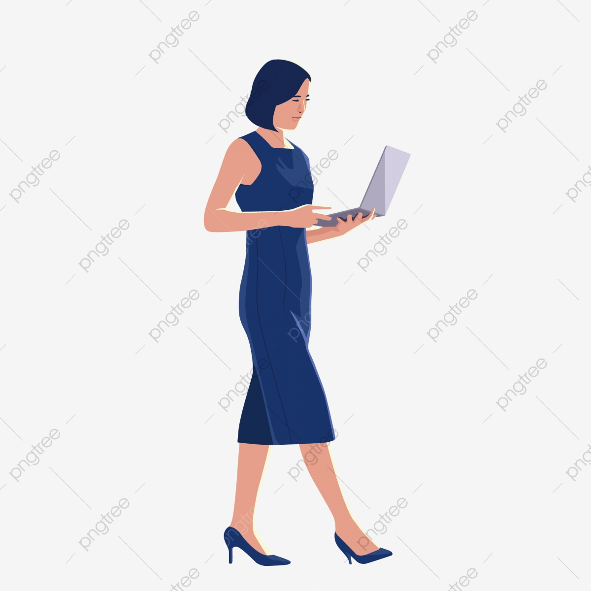 Cartoon Office Professional Woman Free Illustration Business Woman Professional Woman Free Clipart Cartoon Png And Vector With Transparent Background For Free Download