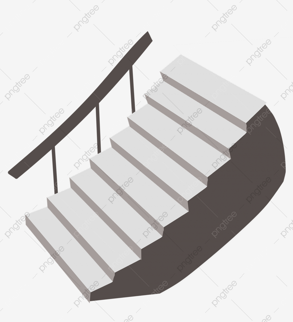 Cartoon Stair Pattern Ascend Climb Up Png Transparent Clipart Image And Psd File For Free Download