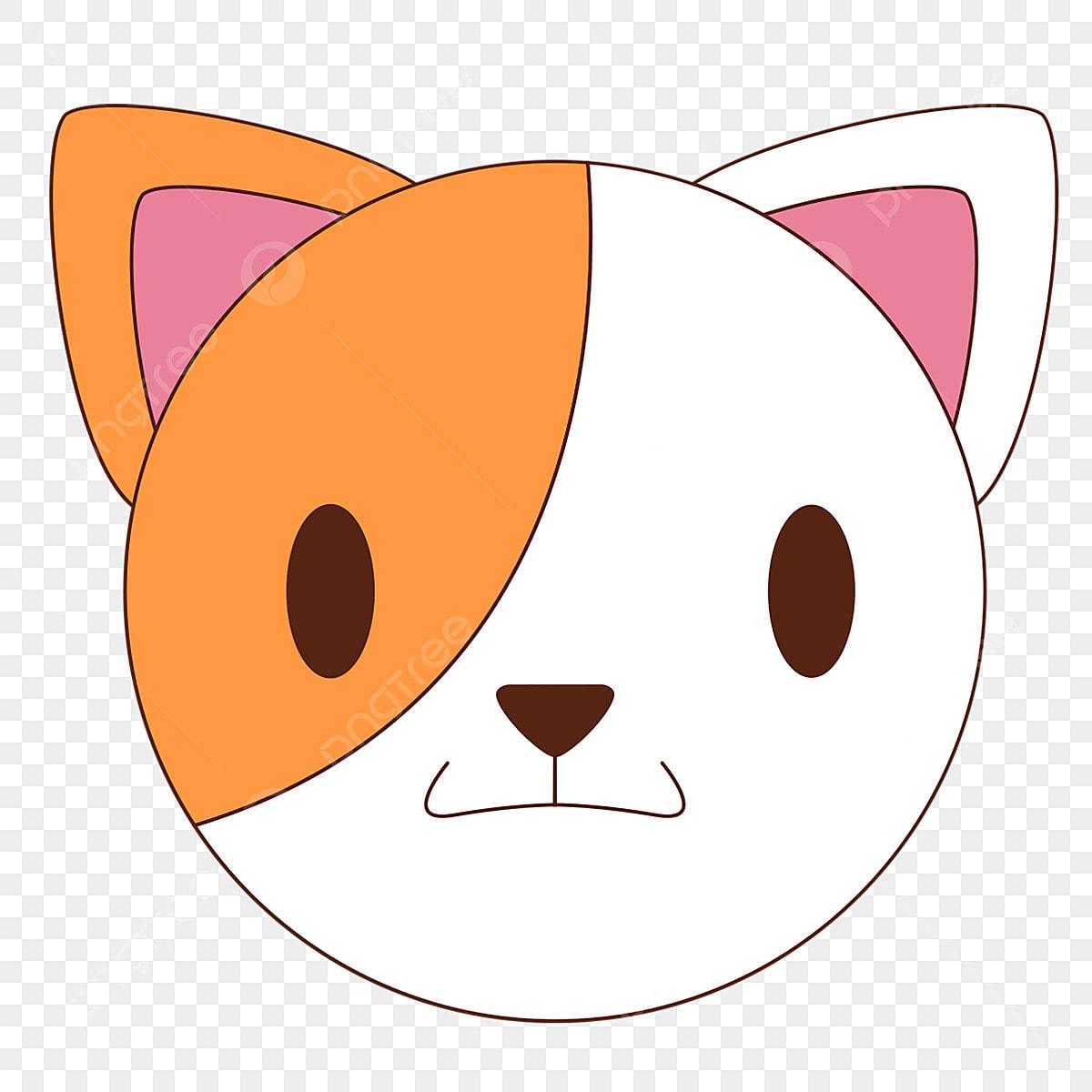 Kartun Hewan Avatar Kucing Bunga Avatar Kucing Putih Kartun