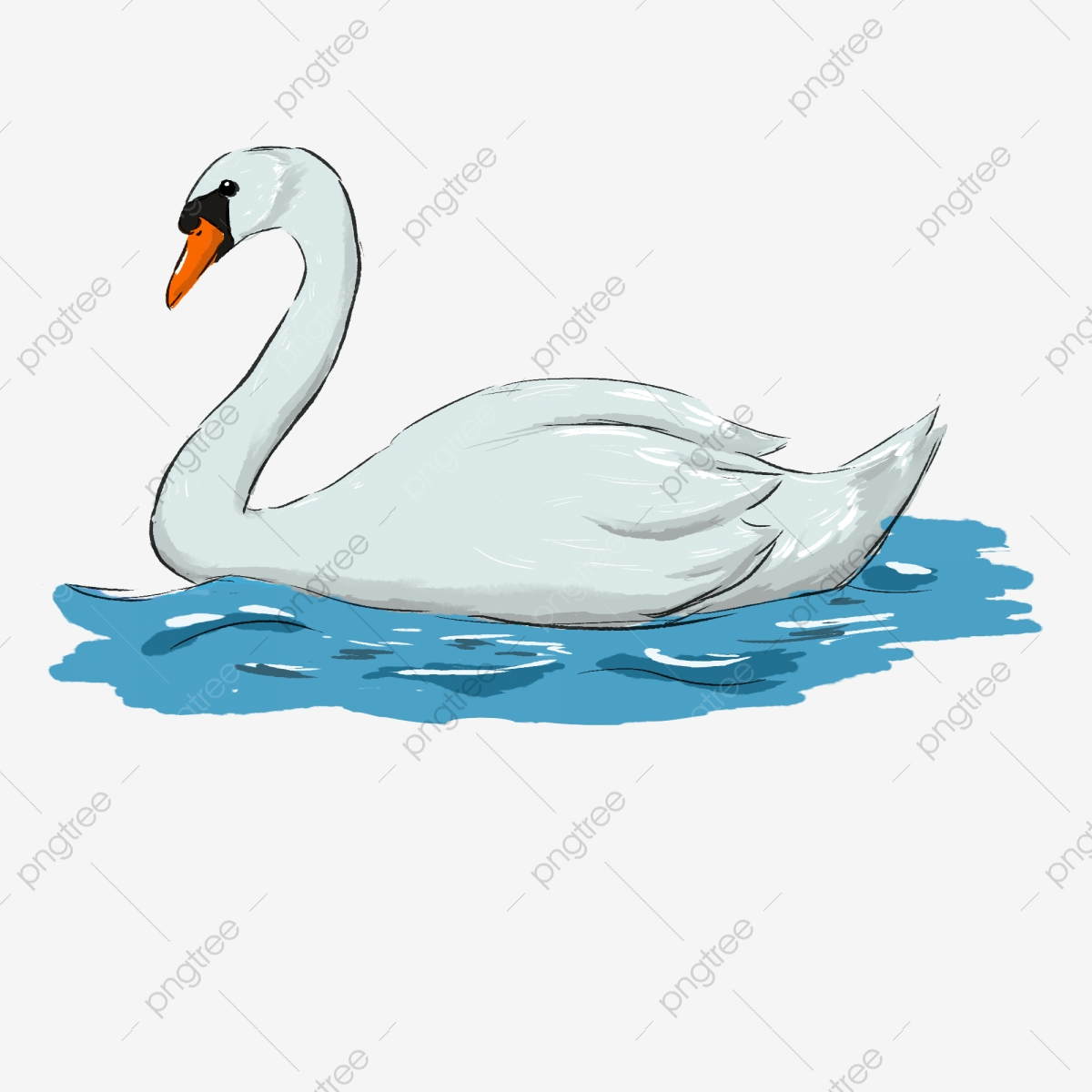 Swan head clipart Library of swan black and white graphic black and white  library | Chastity.captainamericagifts.com