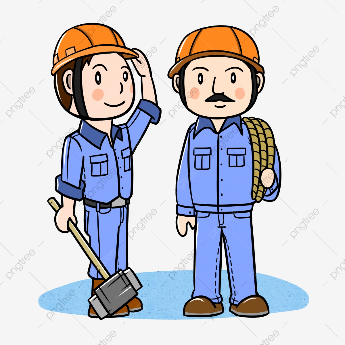 Gambar Kartun Pekerja Tempat Kerja Kerja Kartun Pekerja Tempat Kerja Png Dan Psd Untuk Muat Turun Percuma