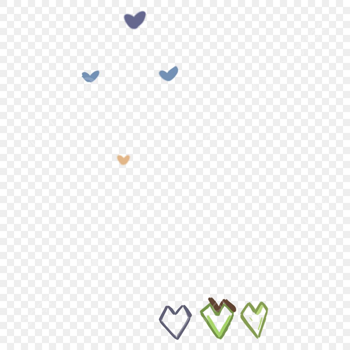 Hình Trái Tim đầy Màu Sắc Tình Yêu Hình đầy đầy Màu Sắc