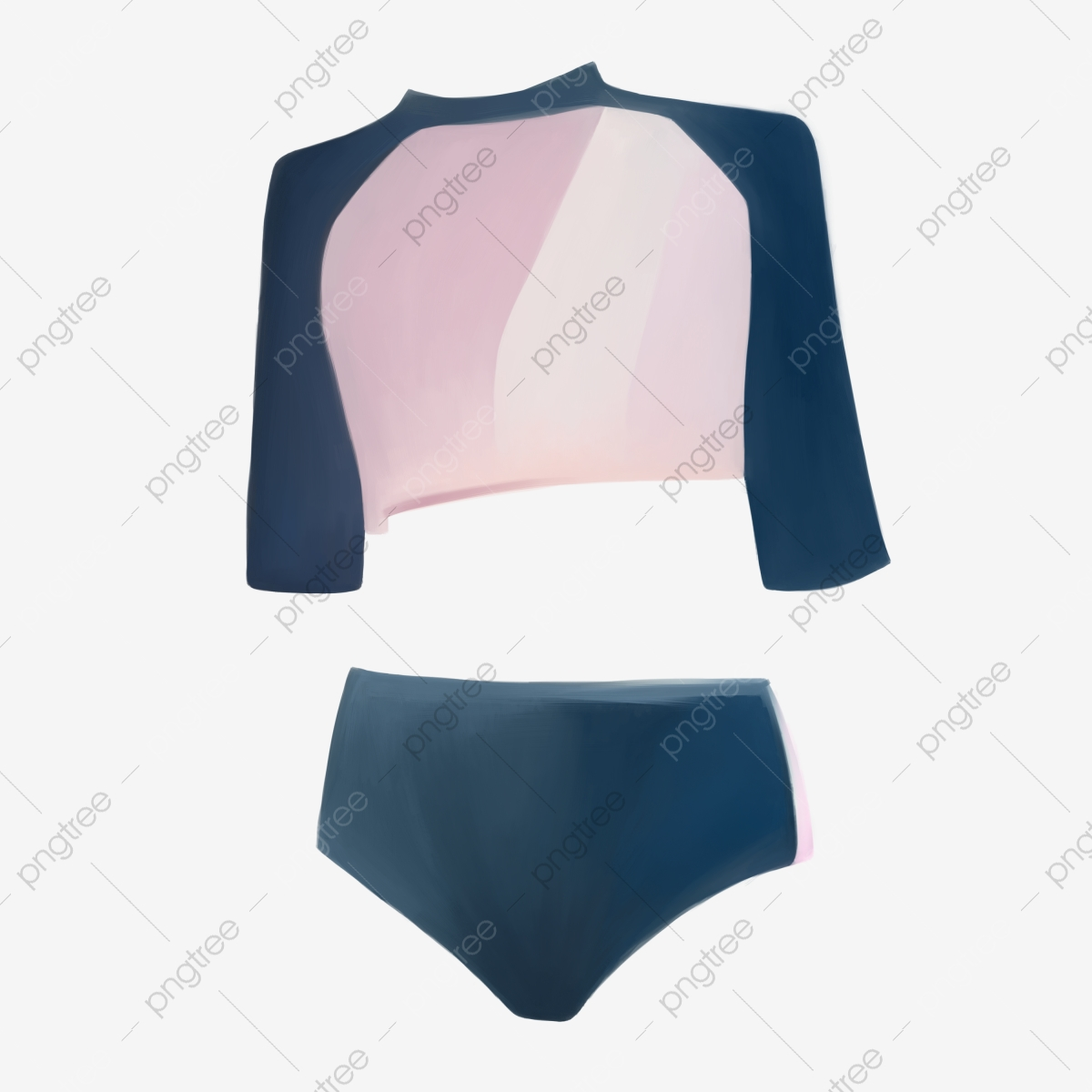 Conservative Swimsuit Illustration Black Swimsuit Swimming Png Transparent Clipart Image And Psd File For Free Download