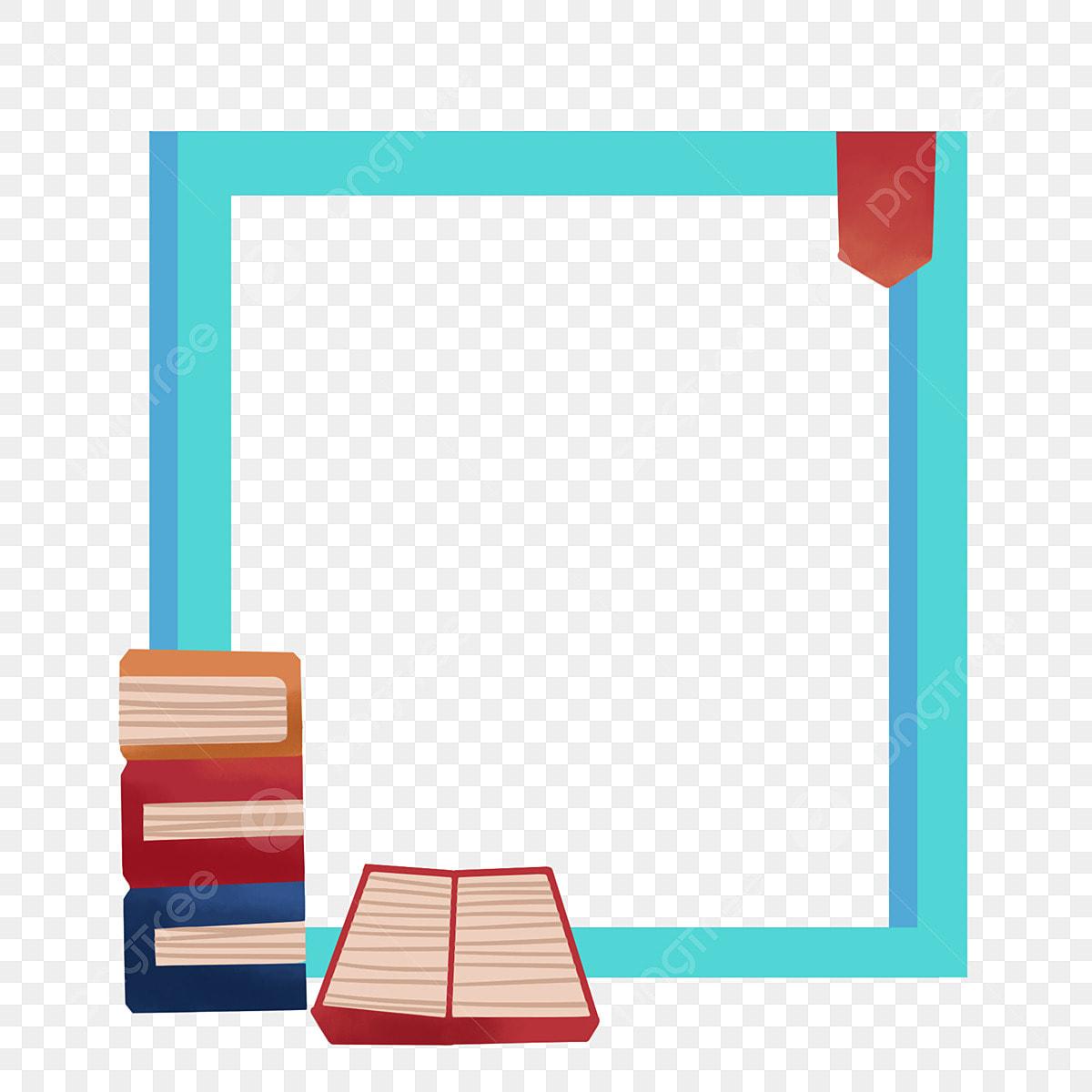 Book Border Clip Art, Transparent PNG Clipart Images Free Download -  ClipartMax