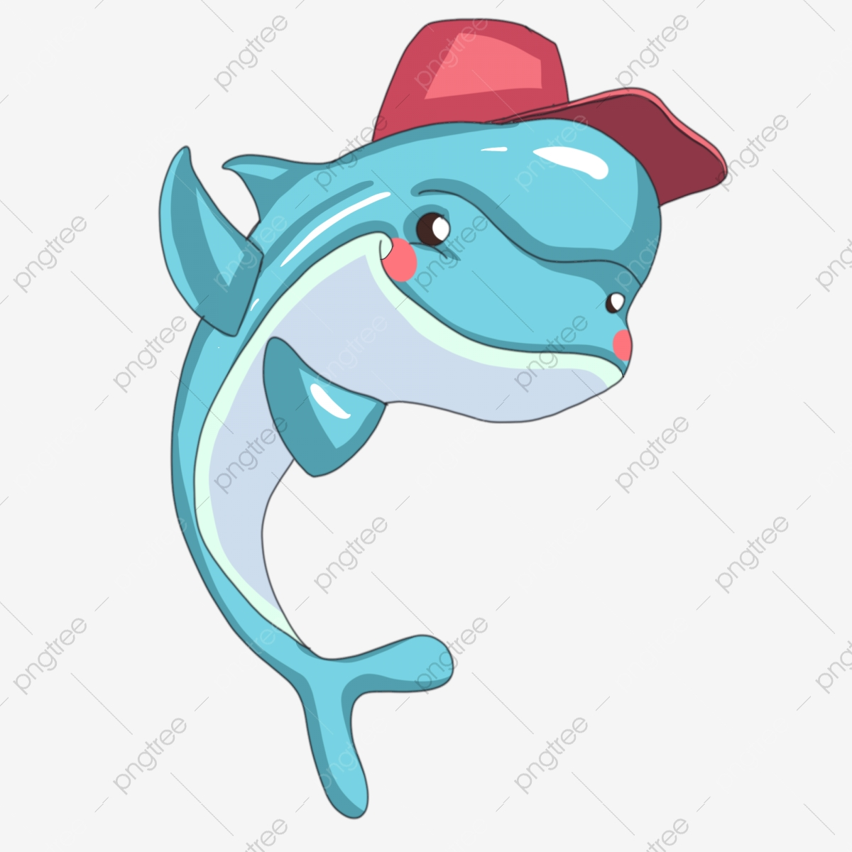 Gambar Haiwan Ikan Lumba Lumba Lautan Ilustrasi Kartun Haiwan Lautan Png Dan Psd Untuk Muat Turun Percuma