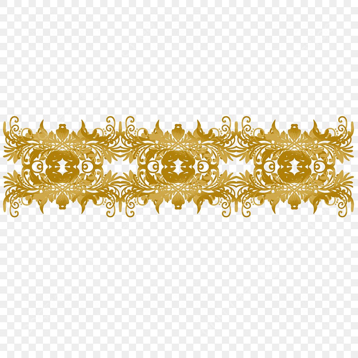 ثلاثي الأبعاد ذهبية خلاقة زخرفة النمط خلاقة الأوروبي Png وملف Psd للتحميل مجانا