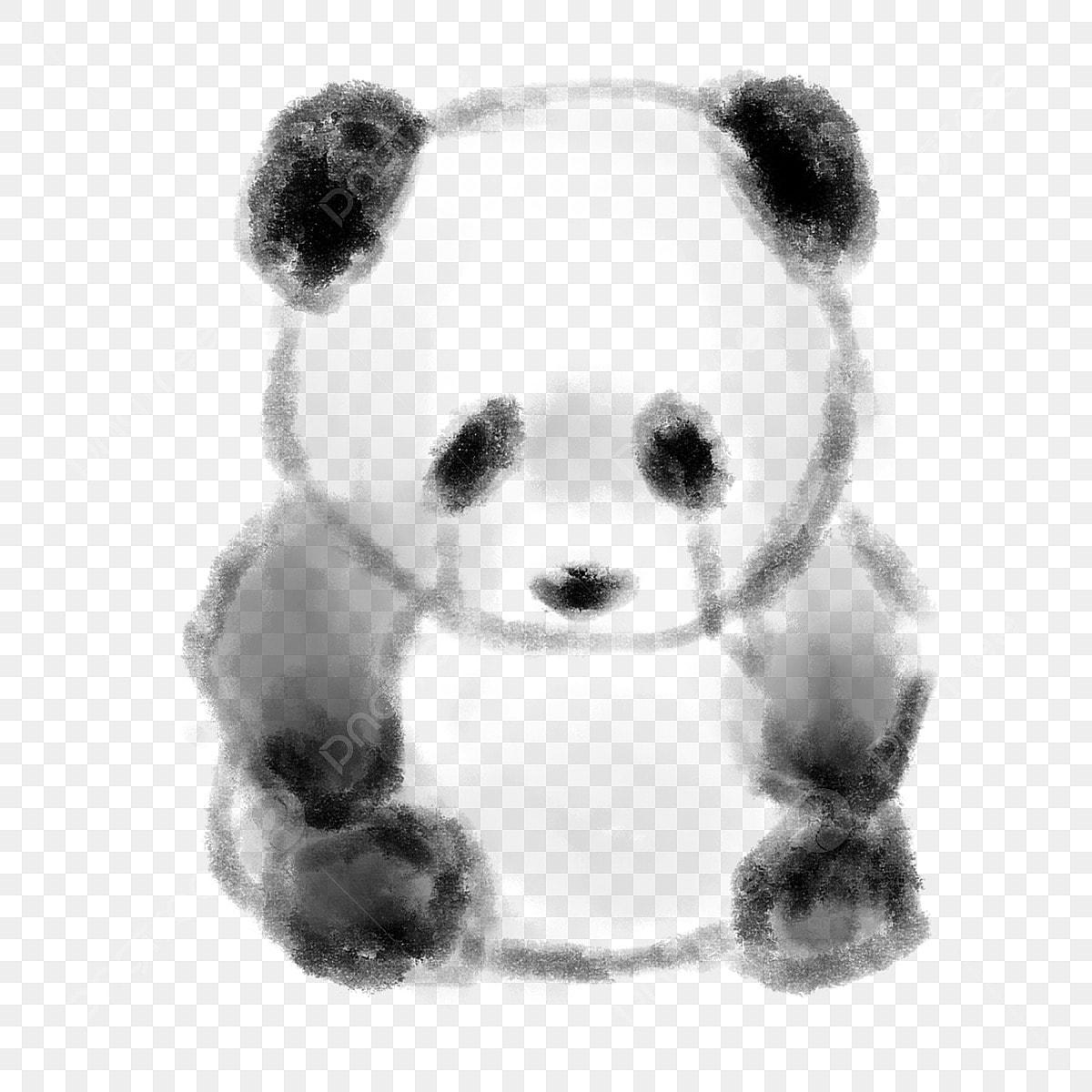 Panda Mignon Petit Animal Animal De Dessin Animé Animal De