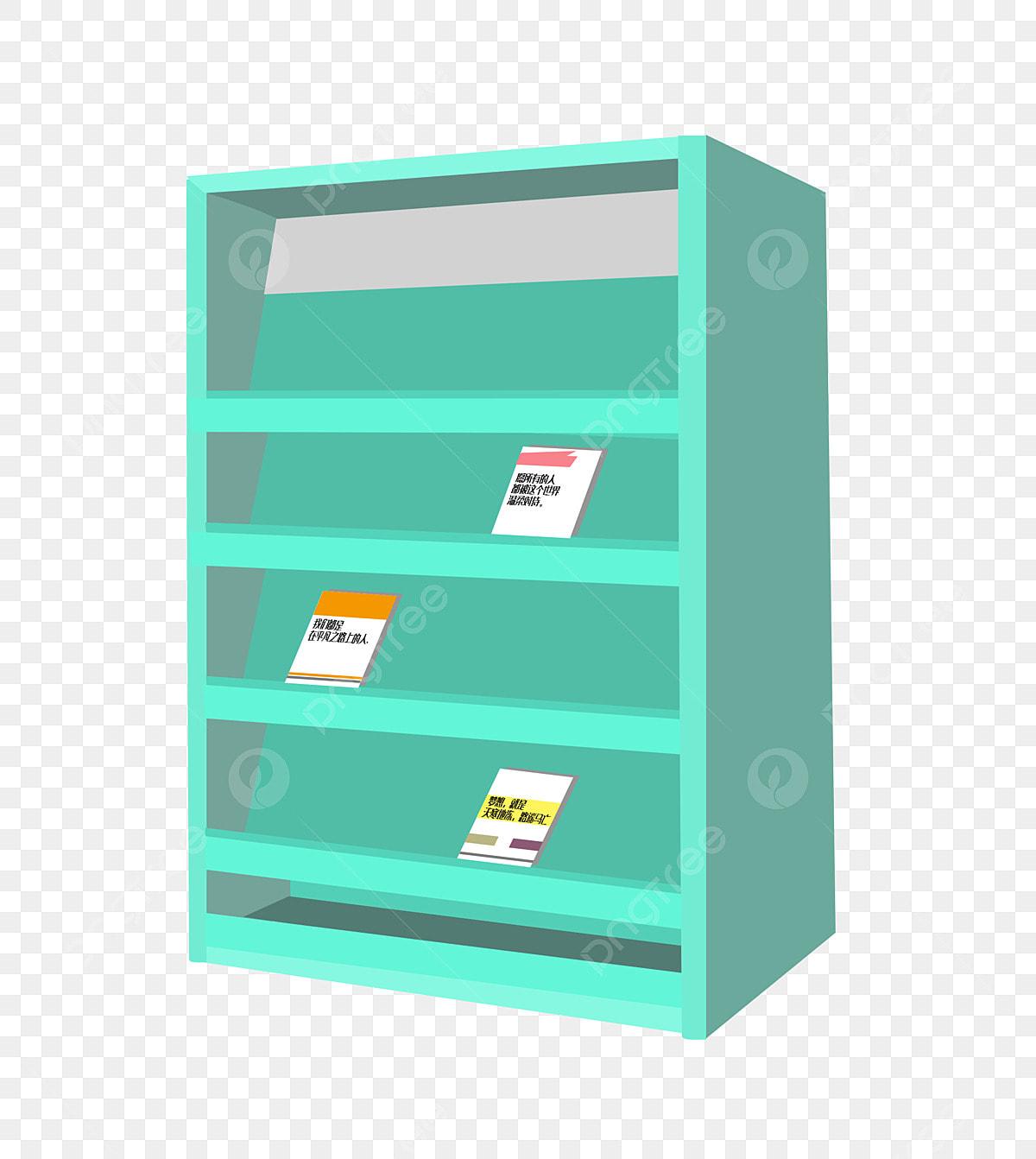 Green Office Cabinet Illustration, Cabinet, Office ...