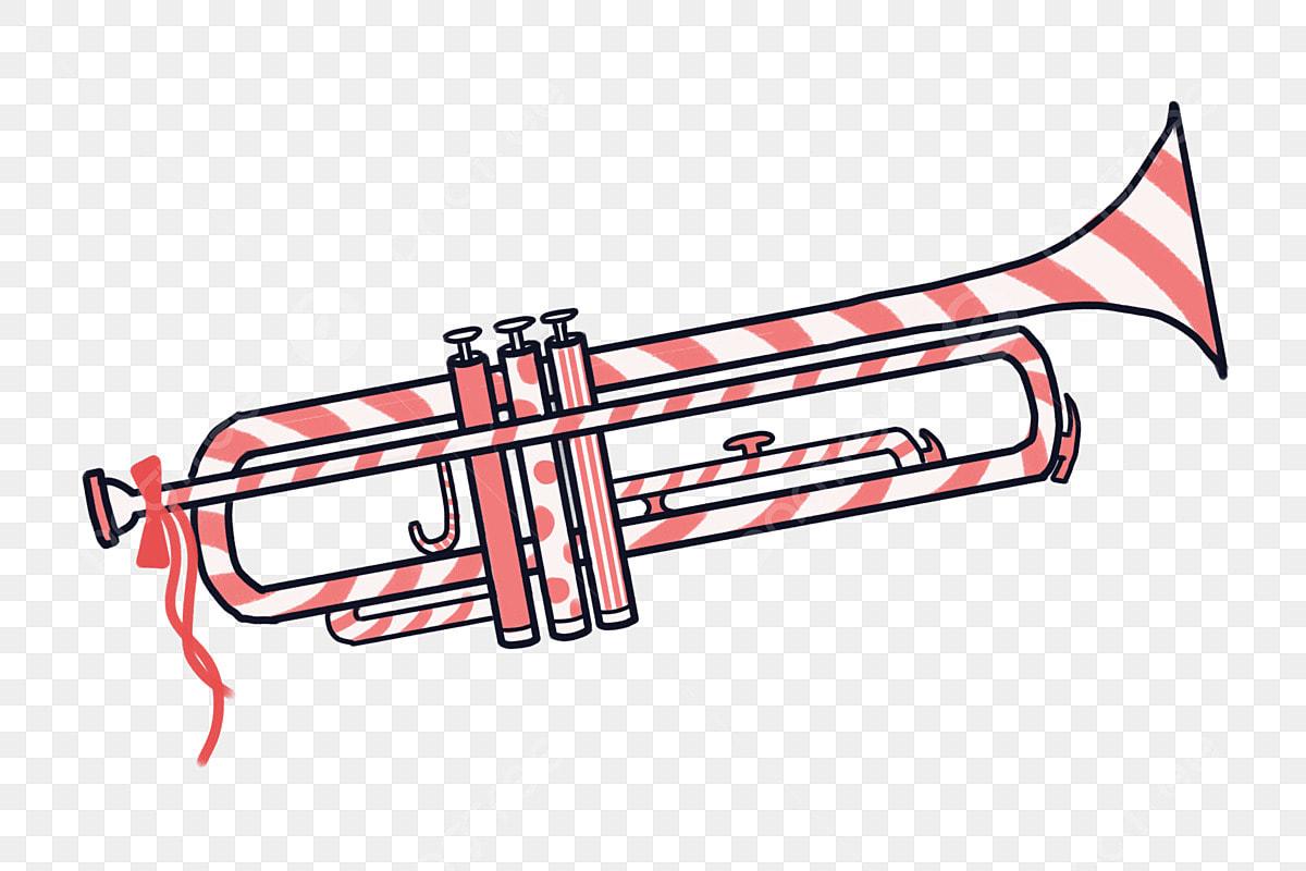 illustration en noir et blanc de trompette - Telecharger Vectoriel Gratuit,  Clipart Graphique, Vecteur Dessins et Pictogramme Gratuit