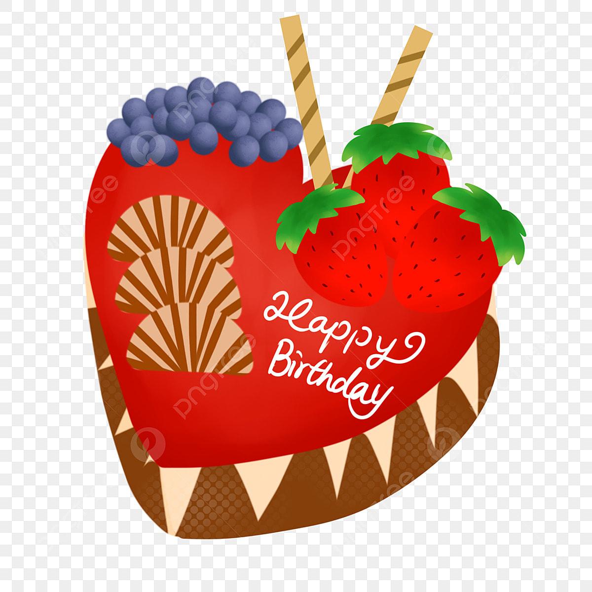 Marvelous Happy Birthday Fruit Cake Happy Birthday Fruitcake Strawberry Personalised Birthday Cards Veneteletsinfo