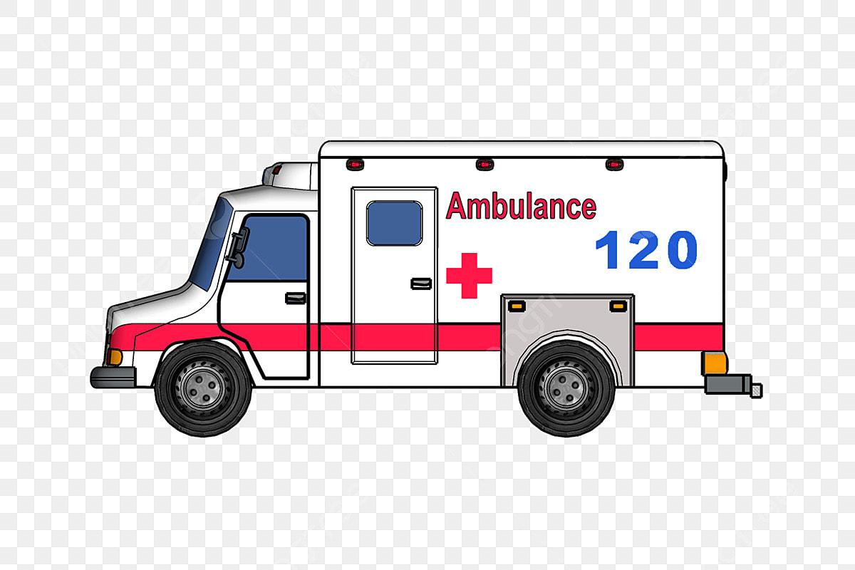 سيارة إسعاف مستشفى 120 التوضيح سيارة إسعافات أولية الصحة العامة الصليب الاحمر Png وملف Psd للتحميل مجانا