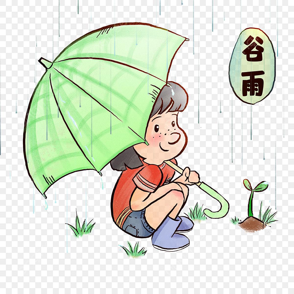 Illustration Du Caractère Gu Yu Aisselle De La Petite Fille