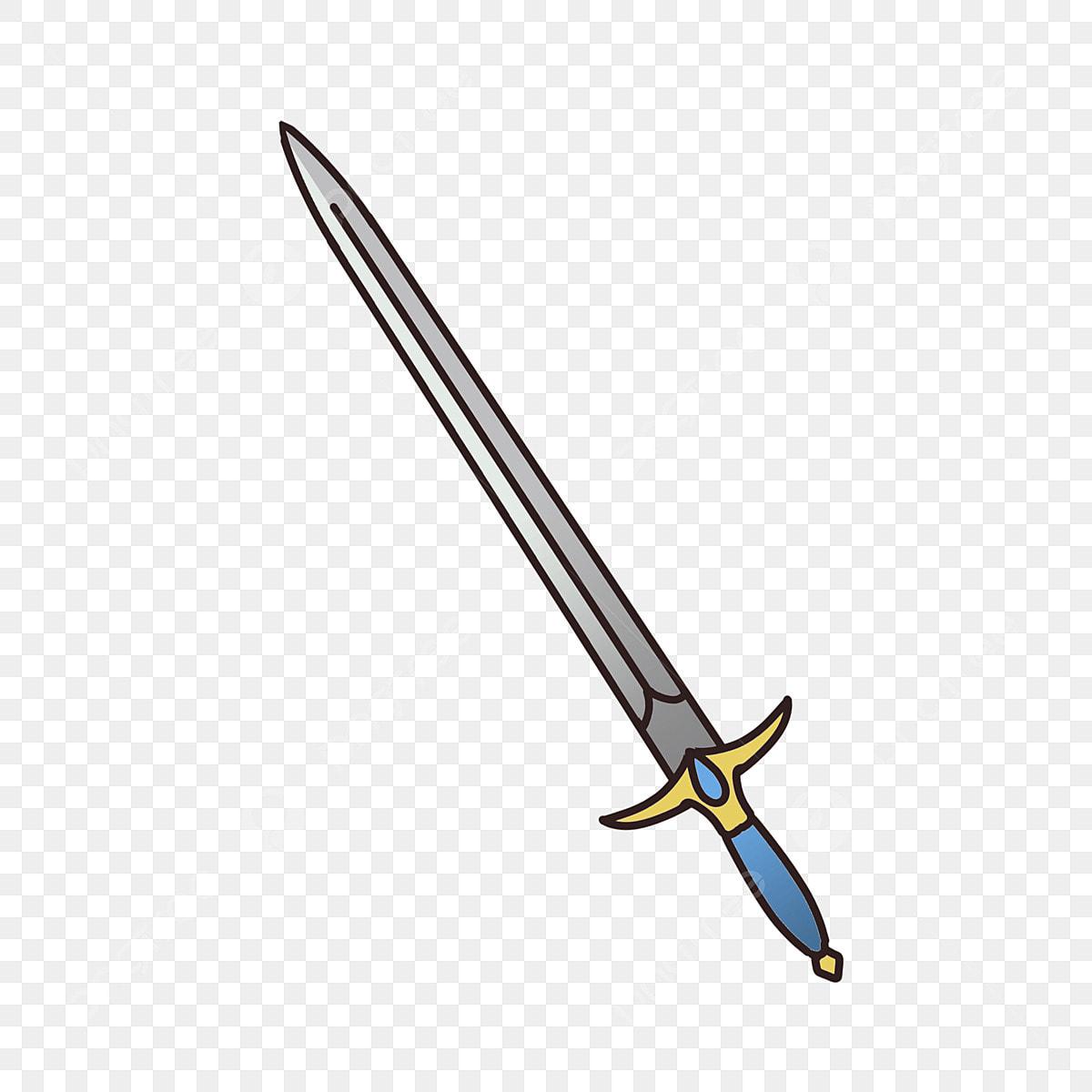 cartoon sword png metal sword cartoon weapon, sword, sword cartoon, gray