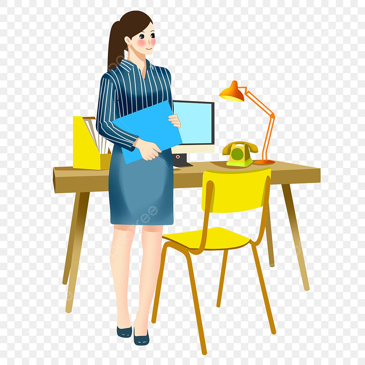 Gambar Pengambilan Pejabat Kerusi Kuning Meja Folder Biru Pengambilan Pejabat Kerusi Kuning Ilustrasi Wanita Pengambilan Png Dan Psd Untuk Muat Turun Percuma