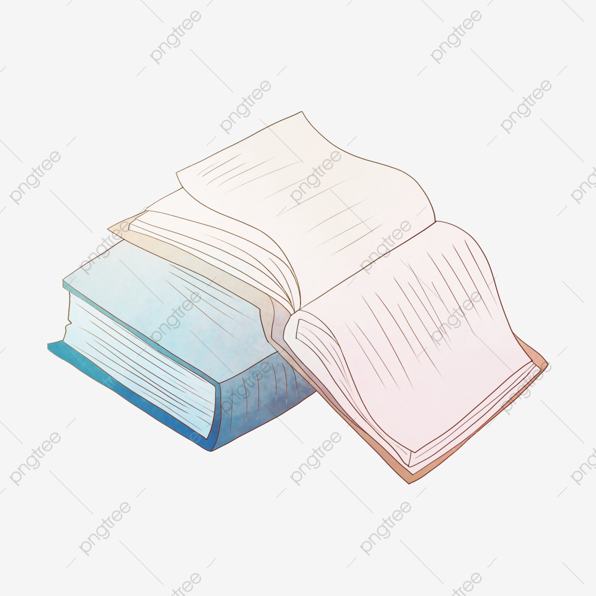 Lecture Apprentissage Livre Bleu Livre Ouvert Livre Bleu